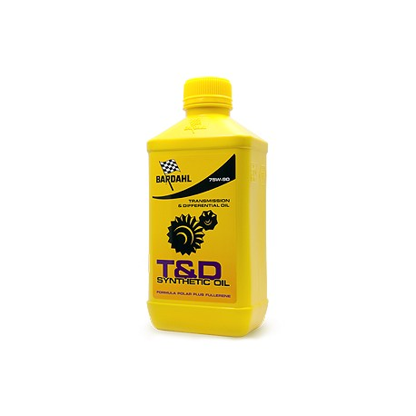 T&D SYNTHETIC OIL 75W90 1L