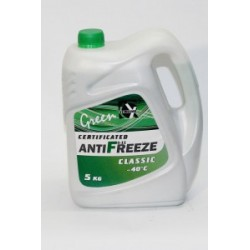 CERTIFICATED ANTIFREEZE CLASSIC G-11 GREEN 5 кг