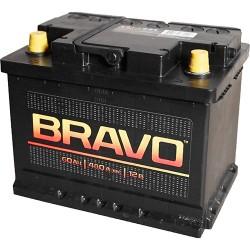 Автомобильный аккумулятор Bravo 60А/ч
